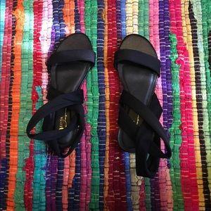 Black Scrappy Sandals